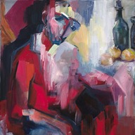 In the room of a poet in disgrace (after Anna Akhmatova and Paul Cezanne)