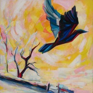 Sonnet 70: A crow that flies in heaven's sweetest air... (15) (2015-08-26)